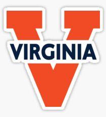 Pegatina Logotipo de Virginia Cavaliers