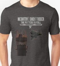 Negative Ghostrider Top Gun Fly by Unisex T-Shirt