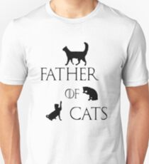 Father of cats Unisex T-Shirt