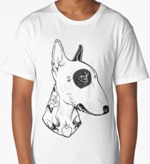Tattooed Bullterrier Long T-Shirt