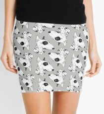 Tattooed Bullterrier Mini Skirt