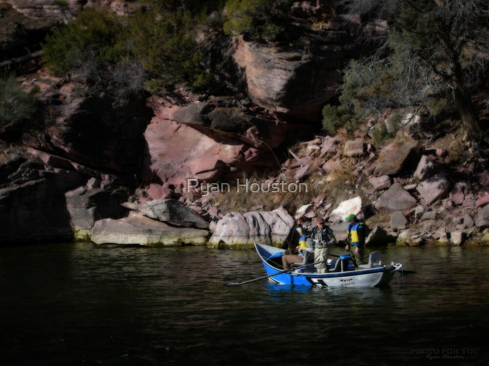 River Guides, The Green River, Flaming Gorge National Recreation Area by Ryan Houston