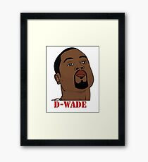 D-Wade Framed Print