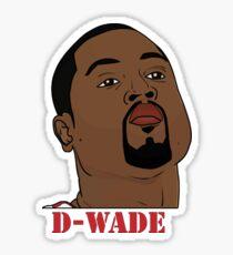 D-Wade Sticker