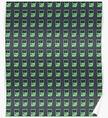 Green Game Boy Poster