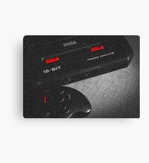 Mega Drive black & white Canvas Print