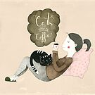 Cats and Coffee by Judith Loske