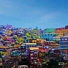 Cerro Artilleria, Valparaiso, Chile by Kurt  Van Wagner