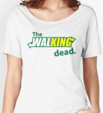 The Walking Subway Parody Women's Relaxed Fit T-Shirt