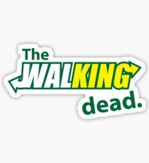 The Walking Subway Parody Sticker