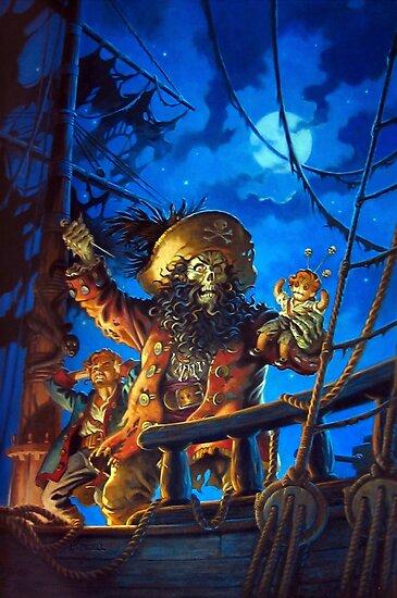 Monkey Island 2, LeChuck's Revenge, Guybrush Threepwood, The Secret of Monkey Island, Le Chuck by Design Team