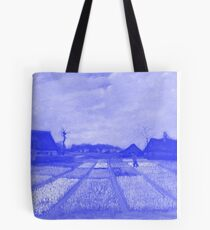Flower Beds in Holland Japanese Porcelain Concept Tote Bag