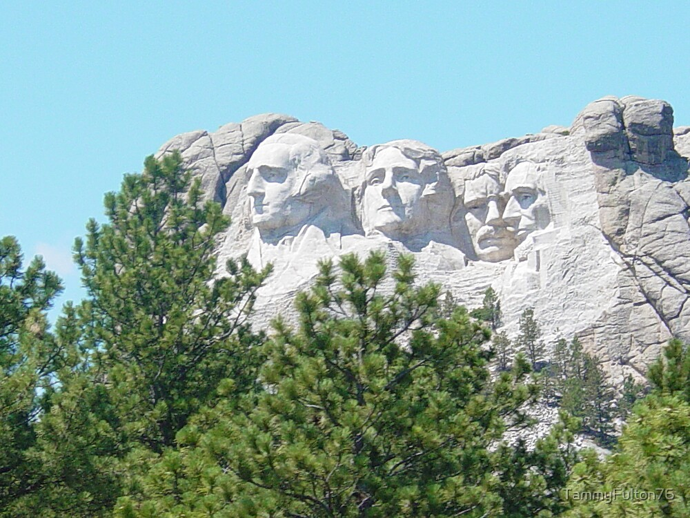 Mount Rushmore by TammyFulton76