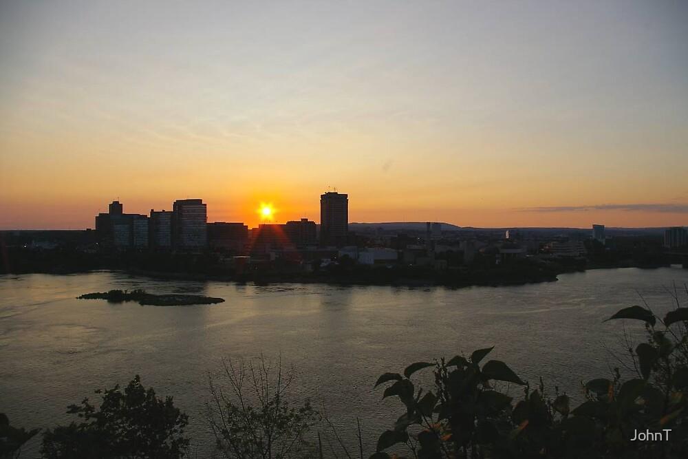 Ottawa sunset by JohnT