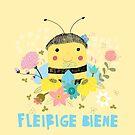Fleißige Biene by Judith Loske