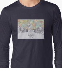 Melting man and sky Long Sleeve T-Shirt