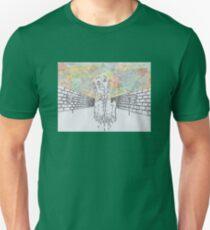 Melting man and sky Unisex T-Shirt