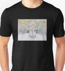 Melting man and sky Unisex T-Shirt