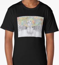Melting man and sky Long T-Shirt