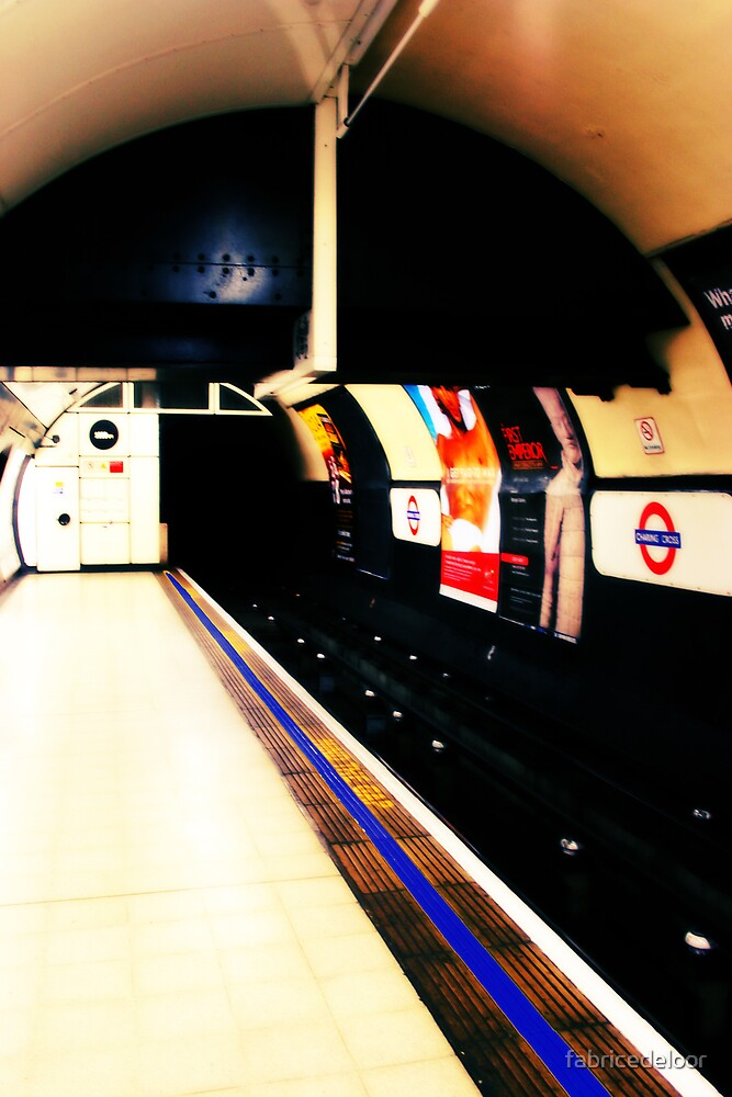 Metro mood in London # 03 by fabricedeloor