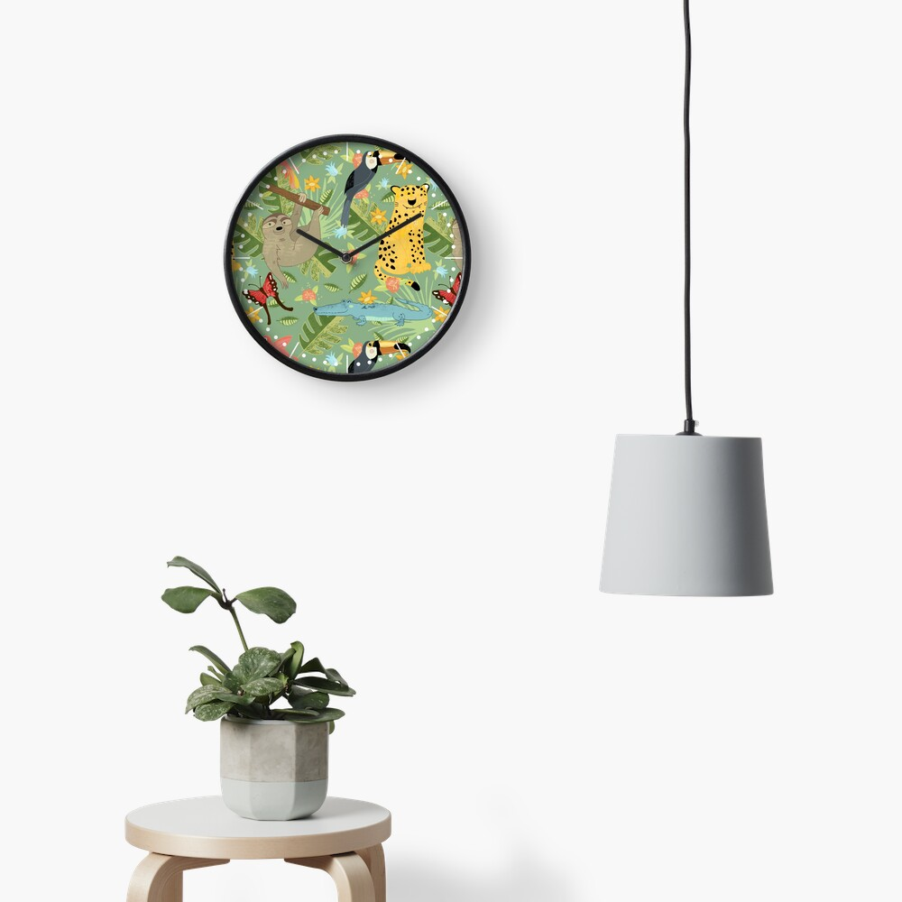 Jungle Adventure Clock