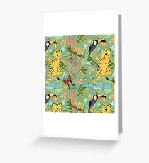 Jungle Adventure Greeting Card