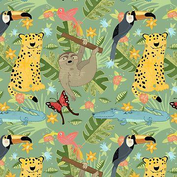 Jungle Adventure by Judith-Loske