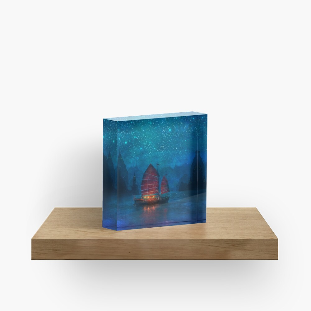 Our Secret Harbor Acrylic Block