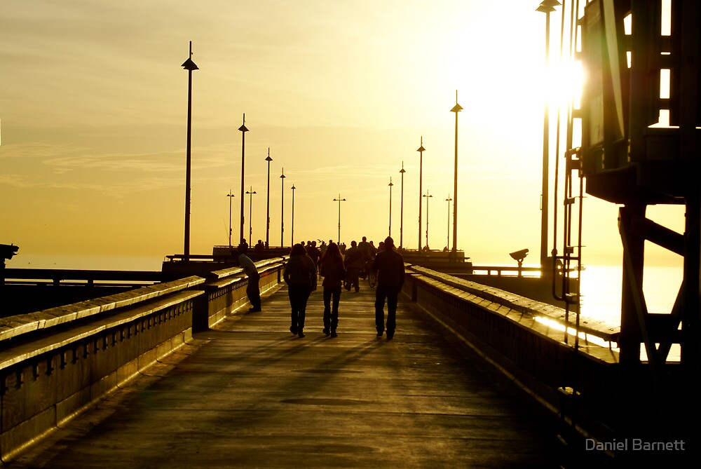 Venice Pier, California by Daniel Barnett