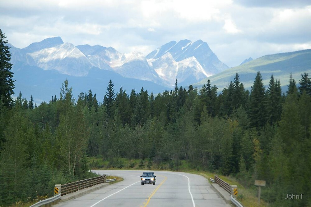 Crossing the Rockies by JohnT