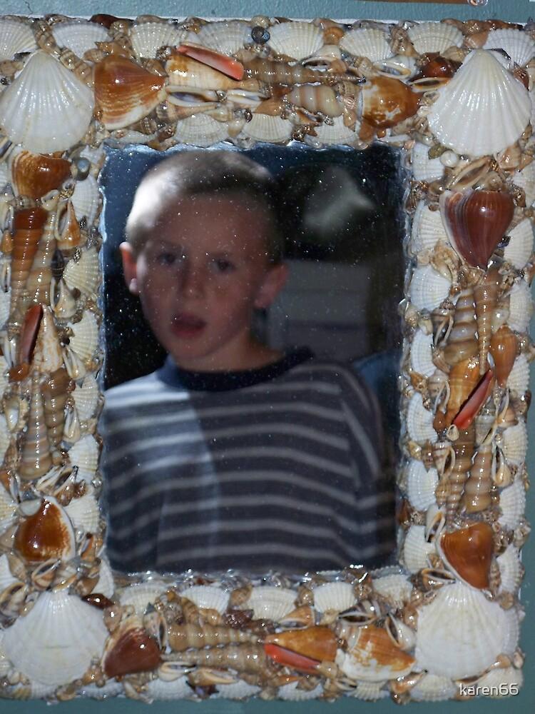 Julian in the Shell Mirror by karen66
