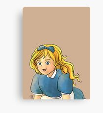 Tammy Wurtherington: The Little Doll Girl Canvas Print