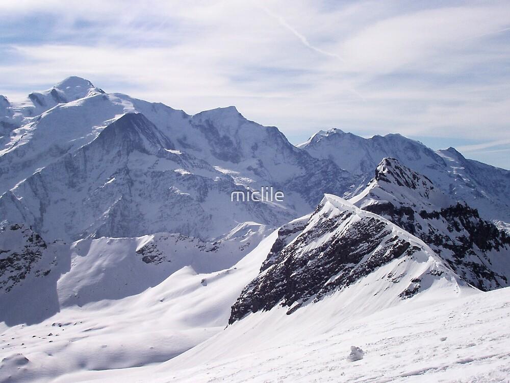 mont blanc colour by miclile