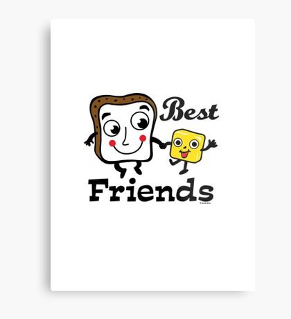 "Bread and Butter ""Best Friends""  Metal Print"