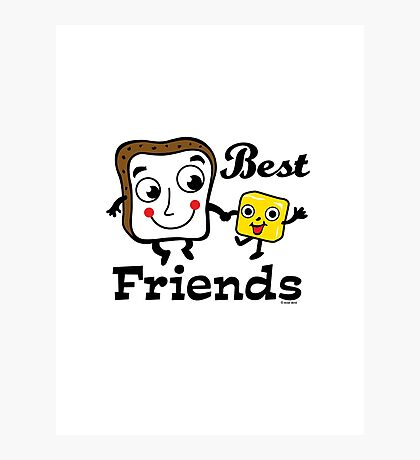 "Bread and Butter ""Best Friends""  Photographic Print"