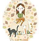 Cat Lover by Judith Loske