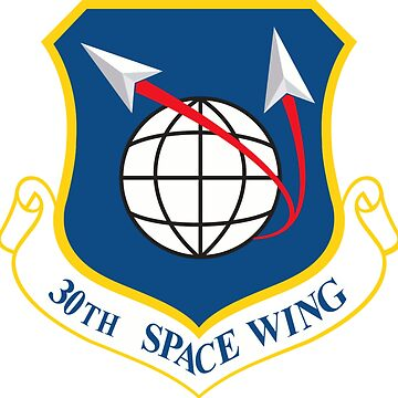 30th Space Wing Crest by Quatrosales