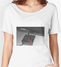 Atari 2600 black & white Women's Relaxed Fit T-Shirt