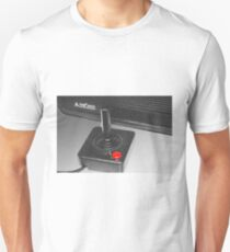 Atari 2600 black & white T-Shirt