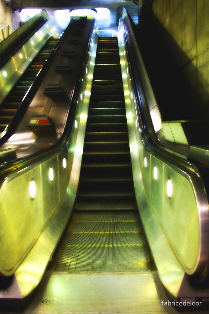 Metro mood in London # 04 by fabricedeloor