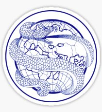 Ouroboros - Blue Sticker