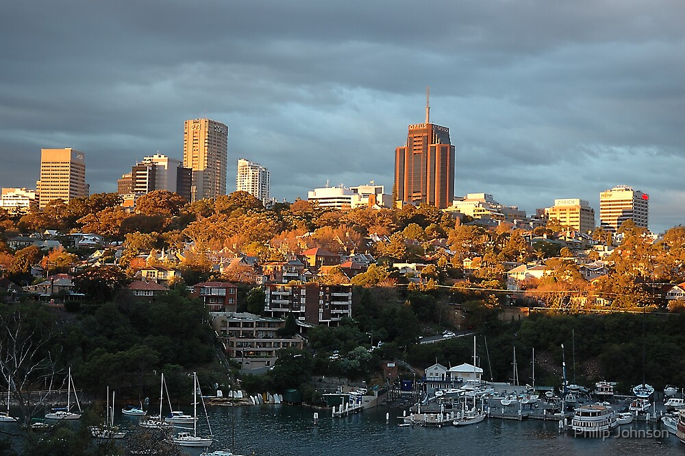 Harbour & City by Philip Johnson