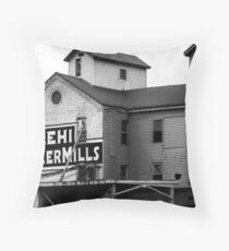 Lehi Roller Mills Throw Pillow