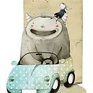 Monster In A Car by Judith Loske
