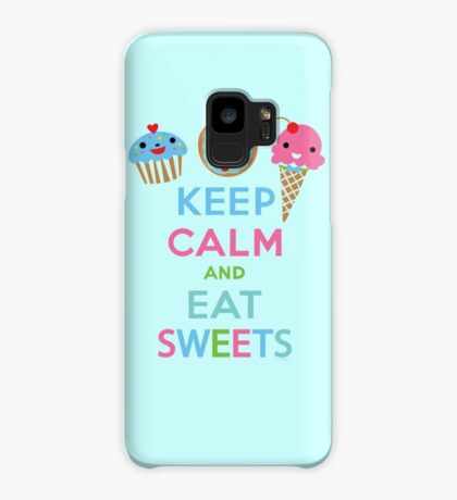 Keep Calm and Eat Sweets 2 Case/Skin for Samsung Galaxy