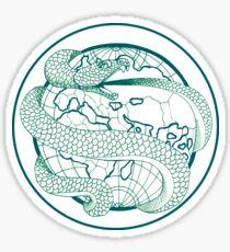 Ouroboros - Green Sticker