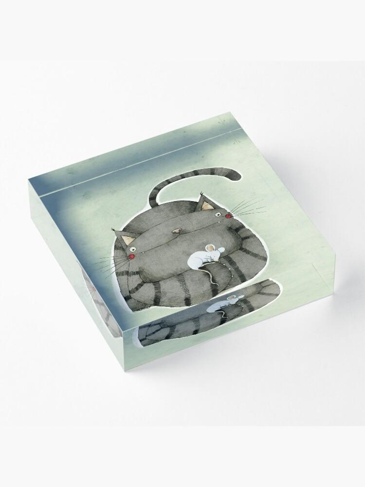 Alternate view of Friends Acrylic Block