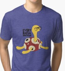 Everyday I'm Shucklin Tri-blend T-Shirt