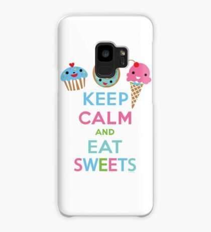 Keep Calm and Eat Sweets      Case/Skin for Samsung Galaxy