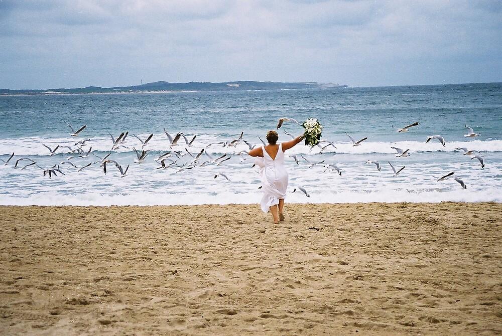 happy bride by ema381